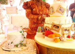 Pictures from the surprise 80th birthday party for the matriarch of Bisi-Taiwo's family of Okeigbo